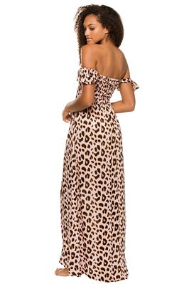 Hollie Off the Shoulder Maxi Dress