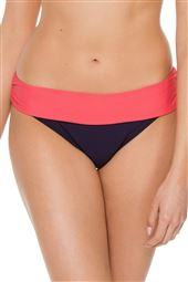 Colorblocked Banded Hipster Bikini Bottom