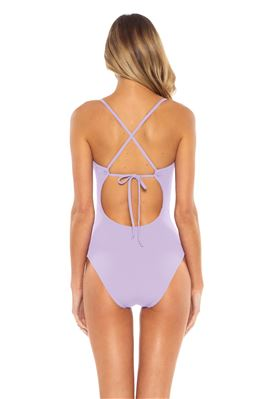 Cutout X-Back One Piece Swimsuit