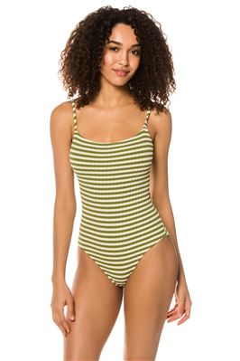 Nina Over The Shoulder One Piece Swimsuit