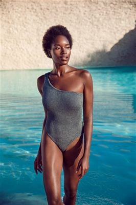 Nancy Asymmetrical One Piece Swimsuit
