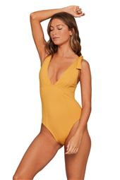 Isabelle Plunge One Piece Swimsuit