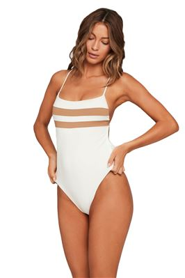 High Impact X-Back One Piece Swimsuit