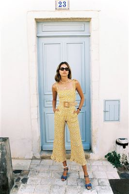 Frankie Wide Leg Jumpsuit
