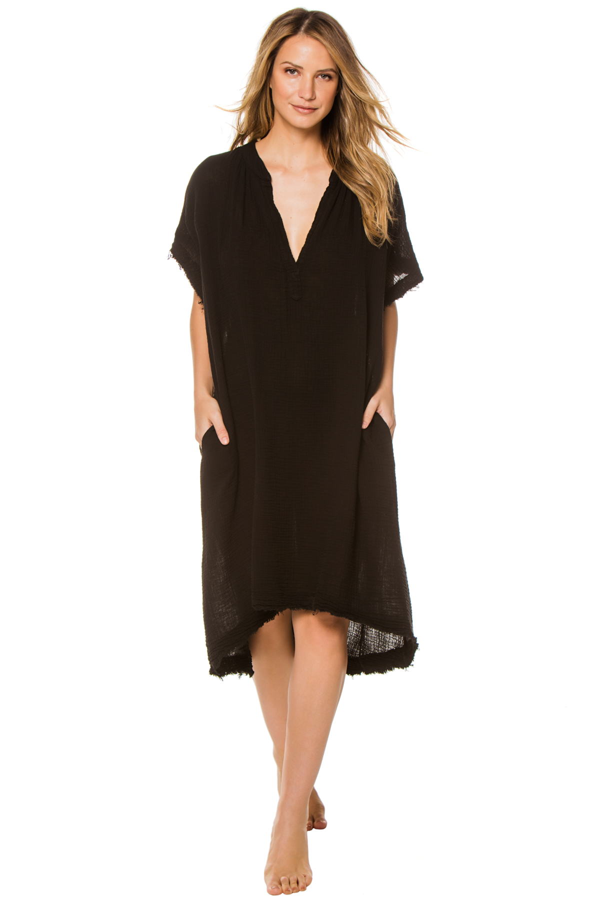 Tunisia Caftan - Black 1