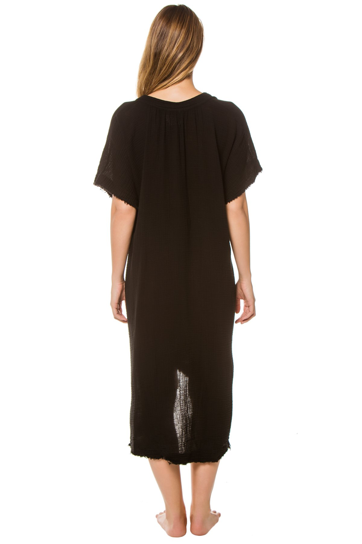 Tunisia Caftan - Black 2