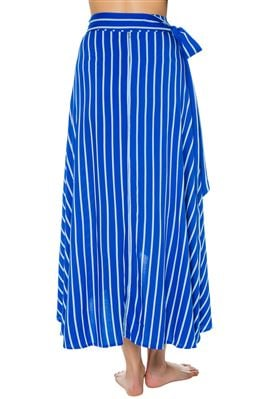 Betty Wrap Maxi Skirt