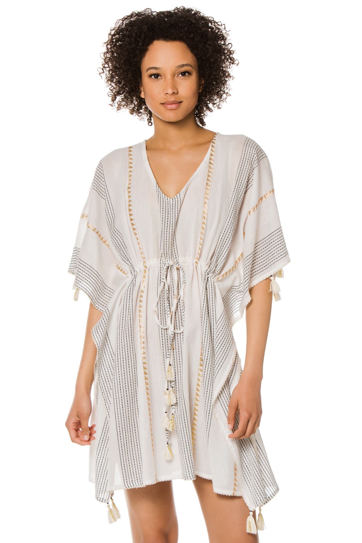 Stripe Tunic - White Stripe 1