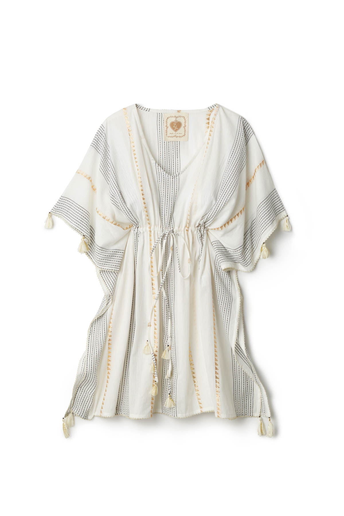 Stripe Tunic - White Stripe 3