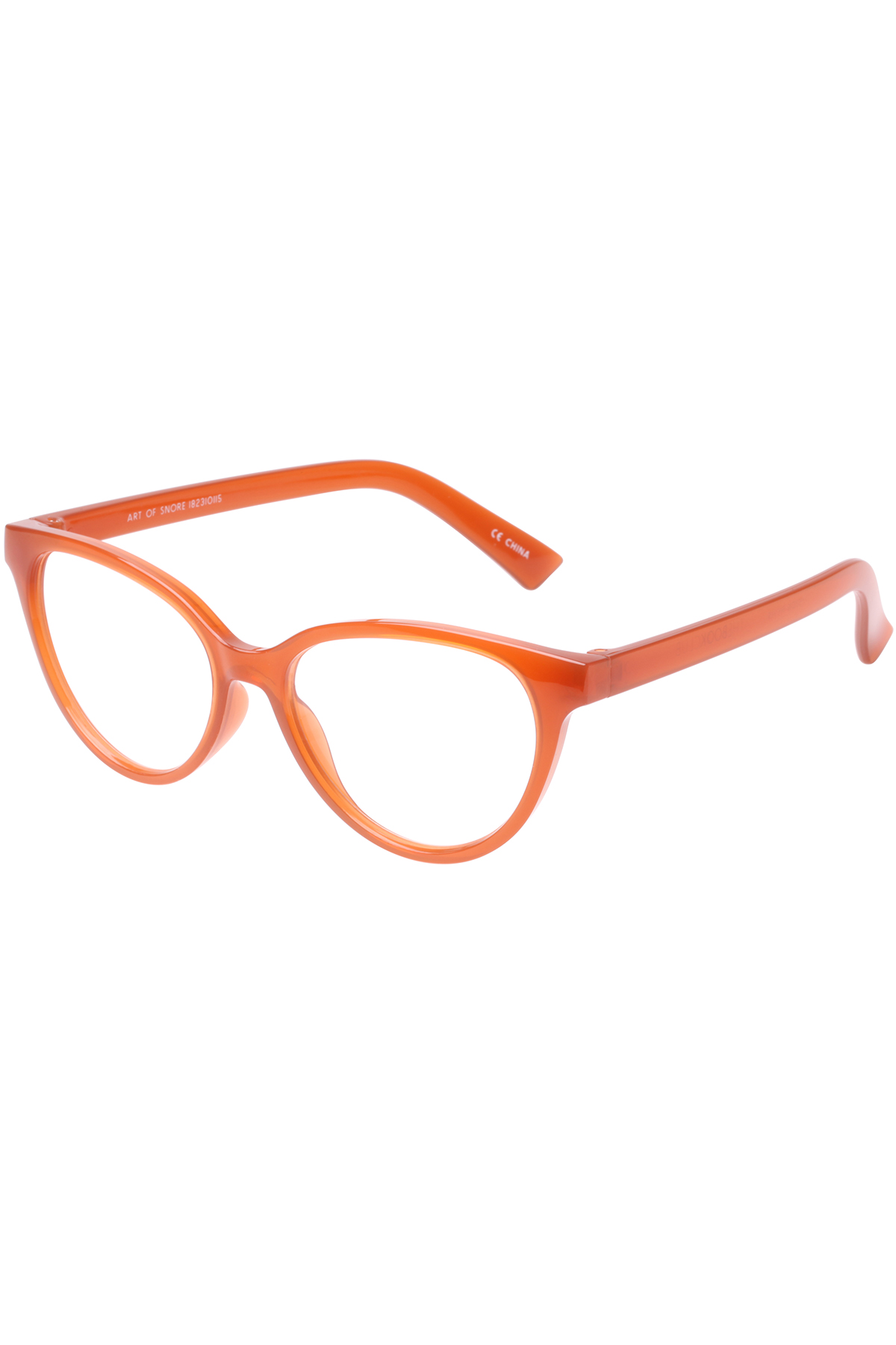 The Art of Snore Blue Light Filter Glasses (0.0 Strength) - Saffron 1