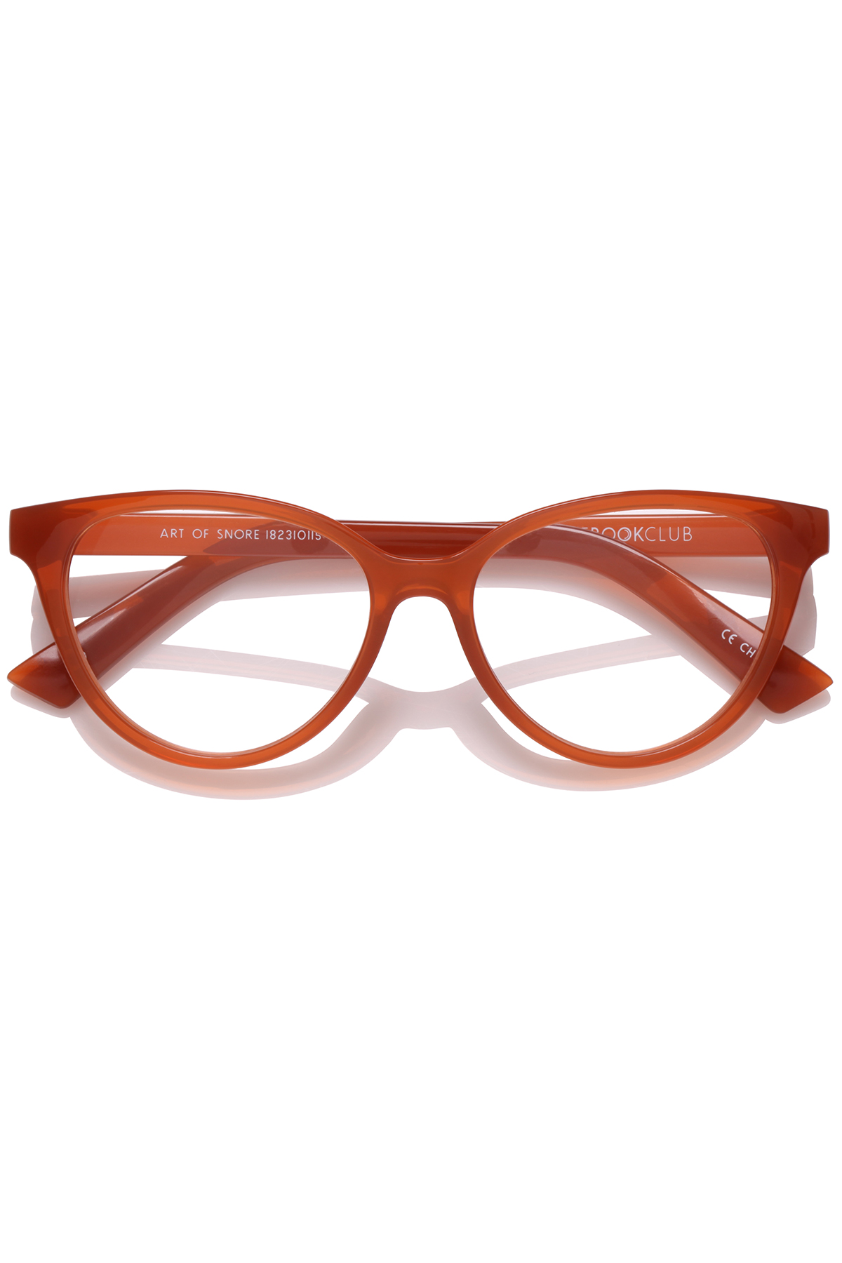 The Art of Snore Blue Light Filter Glasses (0.0 Strength) - Saffron 2