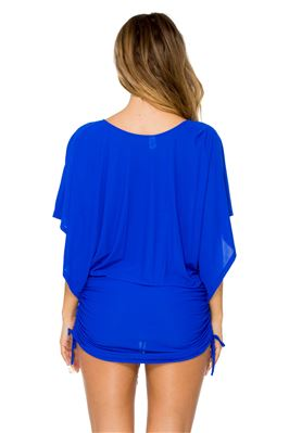Orillas Del Mar Cinch Tie Side Tunic