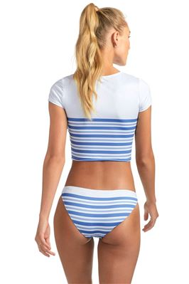 Deia Crop Top Rash Guard