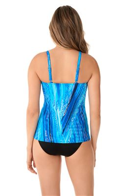 Love Knot Underwire Tankini Top