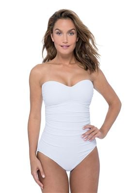 Sweetheart Bandeau One Piece Swimsuit