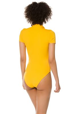 Maya Short Sleeve One Piece Swimsuit