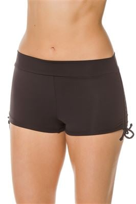 Adjustable Side Boyshort Bikini Bottom
