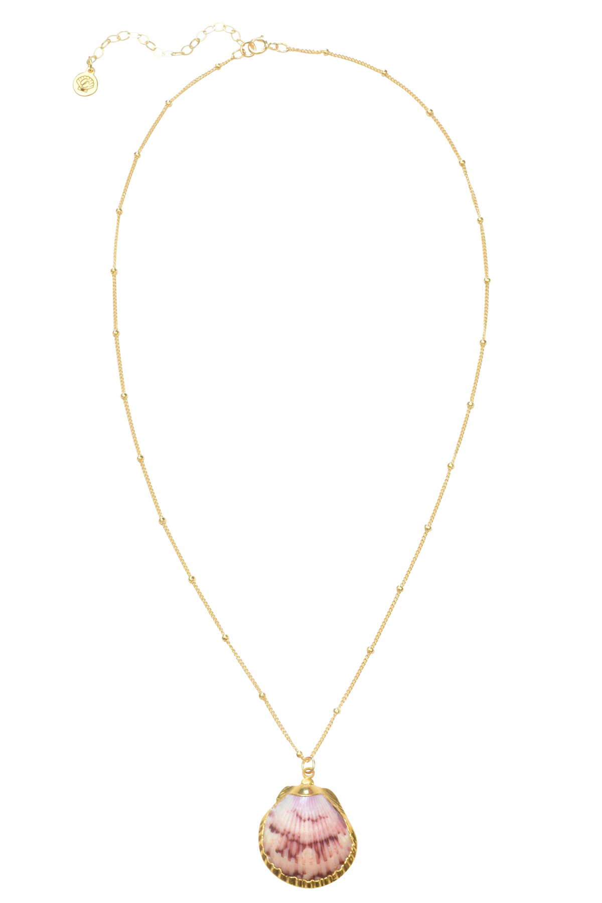 Inspire Seashell Necklace - Gold 1