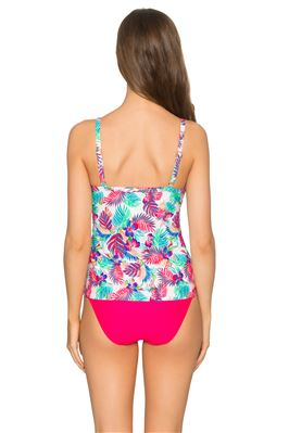 Forever Underwire Over The Shoulder Tankini Top (D+ Cup)