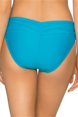 Unforgettable Shirred Banded Bikini Bottom