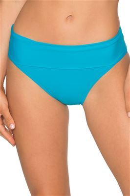 Shirred High Waist Bottom