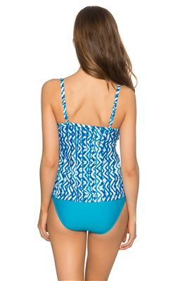 Forever Underwire Over The Shoulder Tankini Top (E-H Cup)