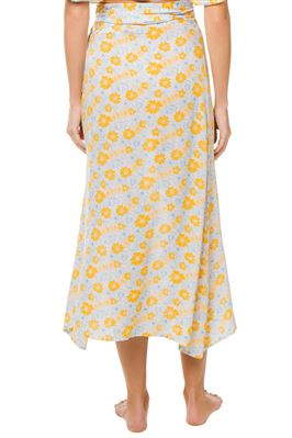 Millie Flora Wrap Skirt