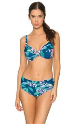 Crossroads Twist Underwire Over the Shoulder Bikini Top (D+ Cup)
