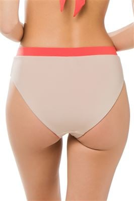 Reversible High Waist Bikini Bottom