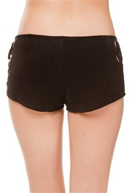 Grommet Side Board Shorts