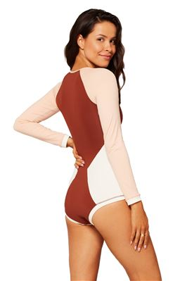Mod Long Sleeve One Piece Suit