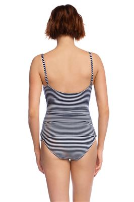 Underwire Over The Shoulder Tankini Top