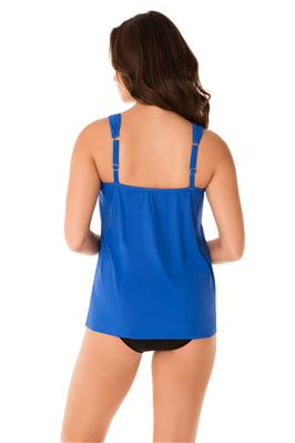 Dazzle Over The Shoulder Tankini Top