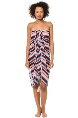 Striped Multi-Way Pareo