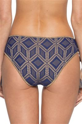 Crochet Lace-up Tie Side Hipster Bikini Bottom