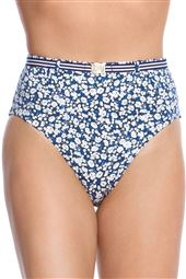 Belted High Waist Bikini Bottom