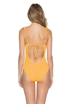 Loreto Plunge One Piece Swimsuit