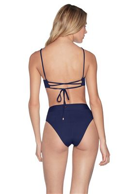 Ink Blue Lovely Reversible Underwire Bikini Top