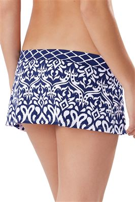 Banded Skirted Hipster Bikini Bottom