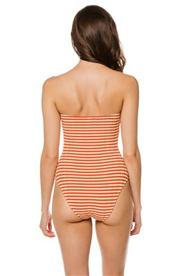 Madeline Bandeau One Piece Swimsuit