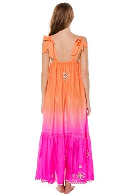 Silk Ombre Maxi Dress