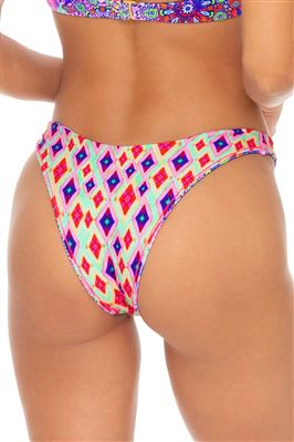 High Leg Brazilian Bikini Bottom