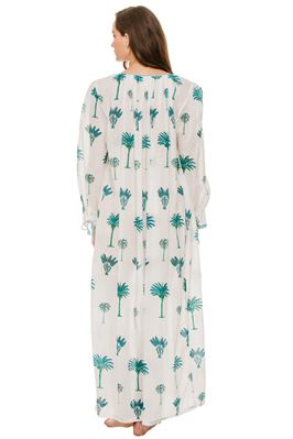 Palmy Embroidered Maxi Dress