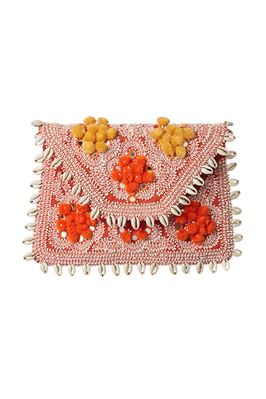 Jolie Embroidered Clutch