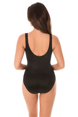 It's A Wrap Over The Shoulder One Piece Swimsuit