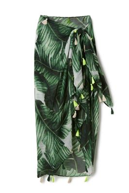 Tropical Leaf Cover Pareo