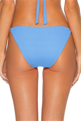 Demi Ribbed Tie Side Hipster Bikini Bottom
