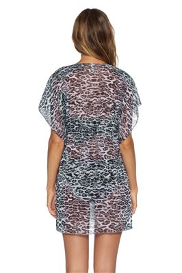 Animal Print Cover Tunic