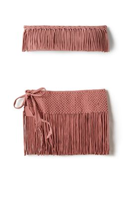Fringe Cover Skirt
