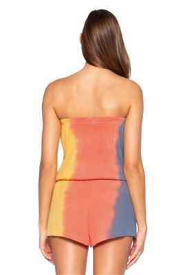 Tie-Dye Romper Cover Up
